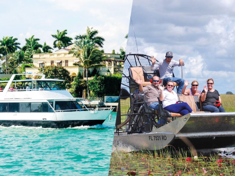 MIAMI BOAT TOUR + EVERGLADES